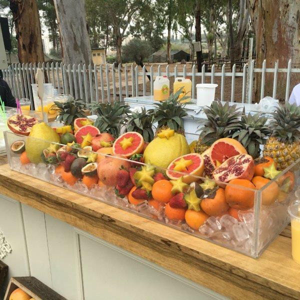 מדוע בר פירות כל כך מבוקש באירועים?