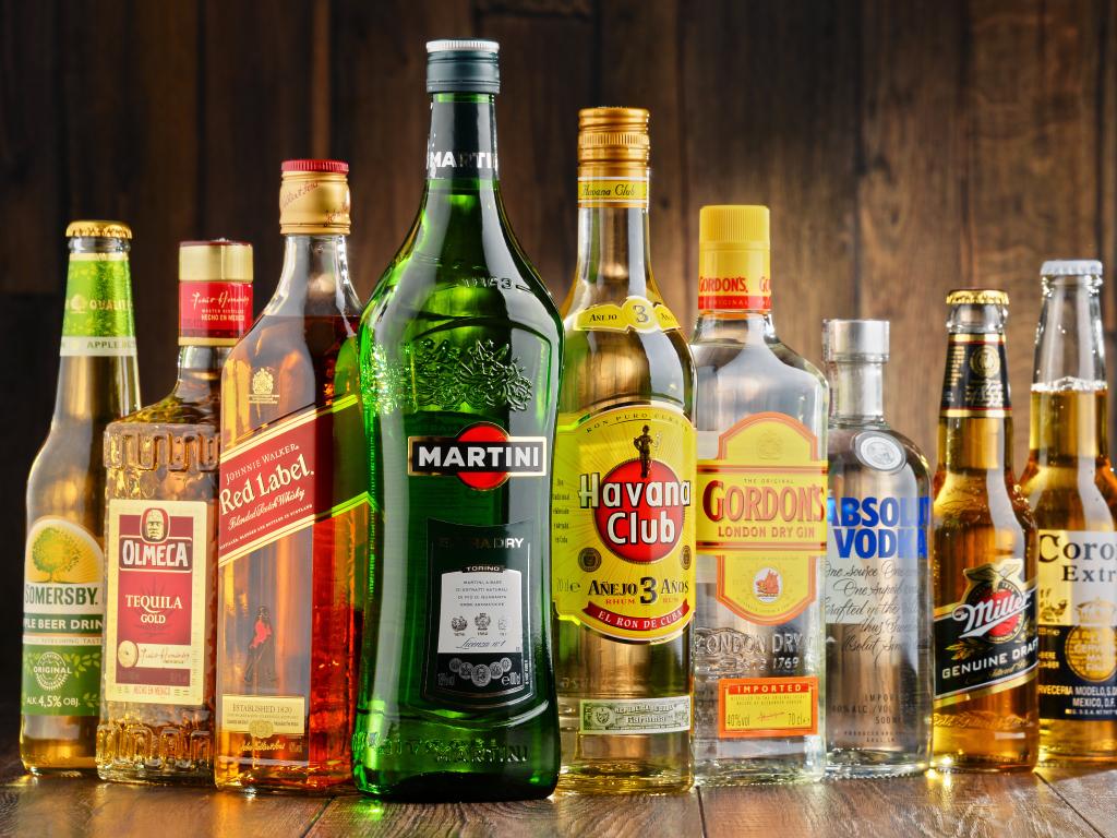 אלכוהול לחינות